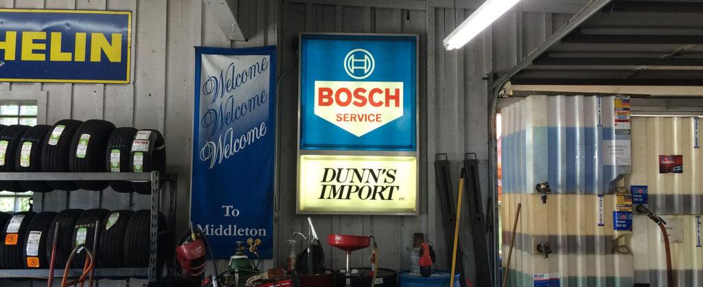 Image: Bosch at Dunn's Imports